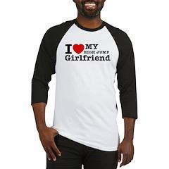 Cool High Jump Girlfriend designs Baseball Jersey