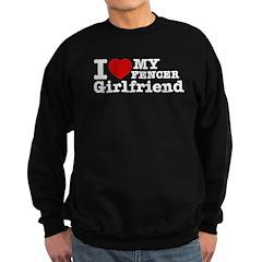 Cool Fencer Girlfriend designs Sweatshirt