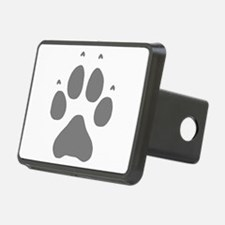 Wolf Paw Print Hitch Cover