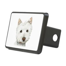 pastel on canvas westie.jpg Hitch Cover