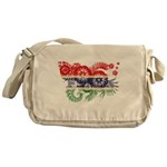 Gambia Flag Messenger Bag