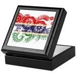 Gambia Flag Keepsake Box