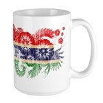 Gambia Flag Large Mug