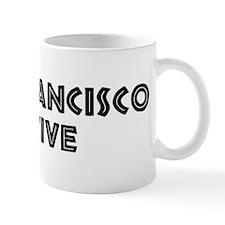 San Francisco Native Small Mug