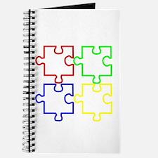 Autism Awareness Puzzles Journal