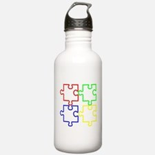 Autism Awareness Puzzles Water Bottle