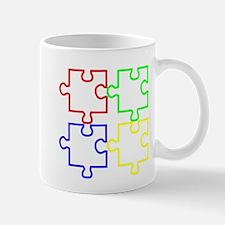 Autism Awareness Puzzles Mug