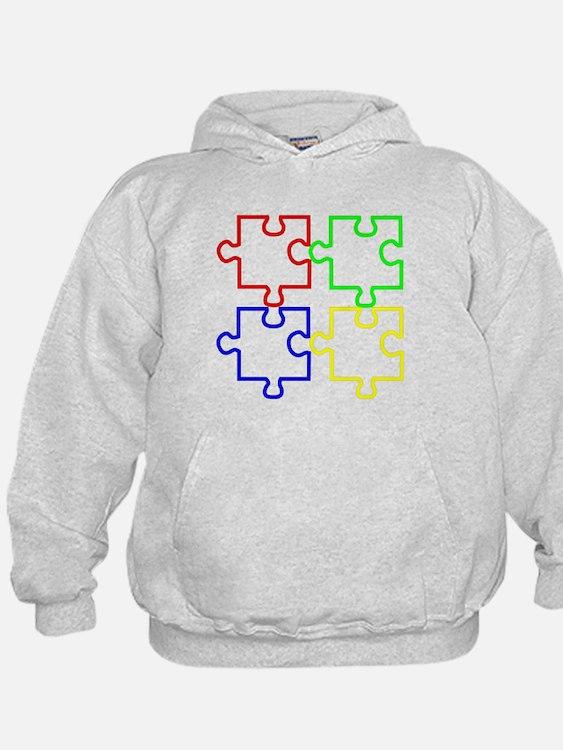 Autism Awareness Puzzles Hoodie