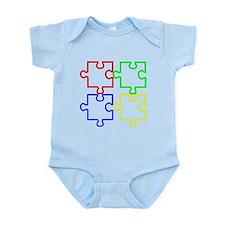 Autism Awareness Puzzles Onesie