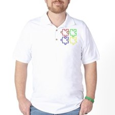 Autism Awareness Puzzles T-Shirt