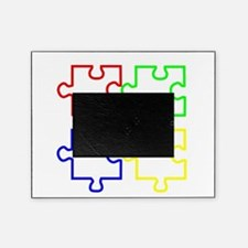 Autism Awareness Puzzles Picture Frame