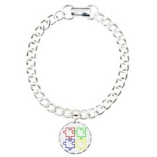 Autism Awareness Puzzles Bracelet