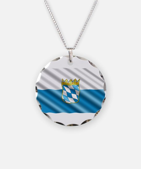 Bavaria Flag Necklace