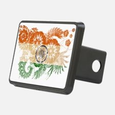 India Flag Hitch Cover
