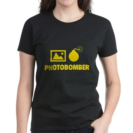Photobomber Women's Dark T-Shirt