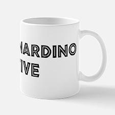 San Bernardino Native Mug