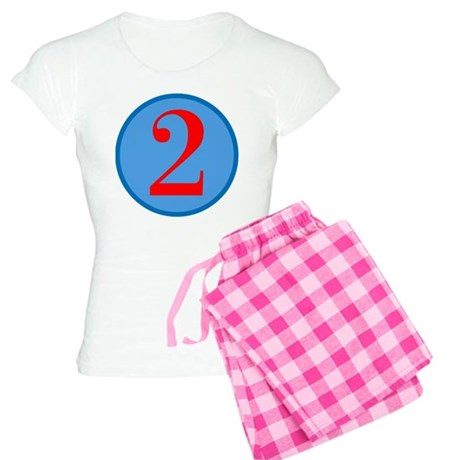 Number Two Birthday Women's Light Pajamas
