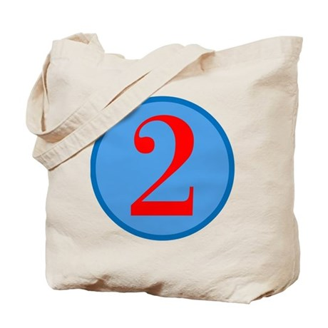 Number Two Birthday Tote Bag