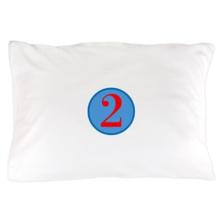 Number Two Birthday Pillow Case