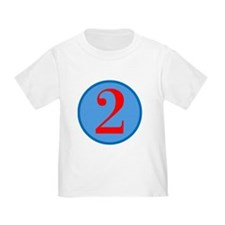 Number Two Birthday T