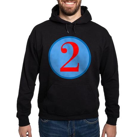 Number Two Birthday Hoodie (dark)