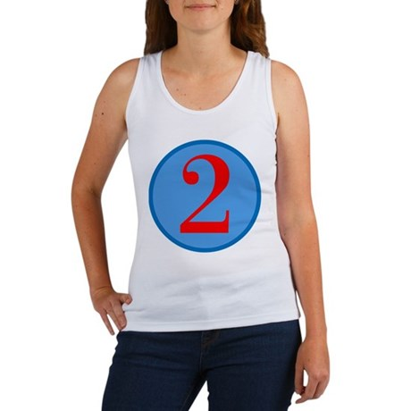 Number Two Birthday Women's Tank Top