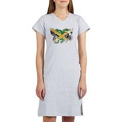 Jamaica Flag Women's Nightshirt