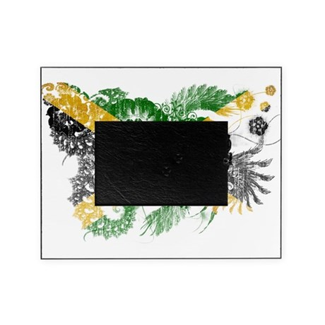 Jamaica Flag Picture Frame
