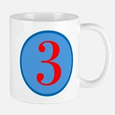 Number Three Birthday Mug