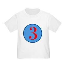 Number Three Birthday T