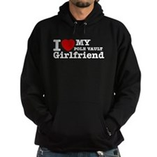 Cool Pole Vault Girlfriend designs Hoodie