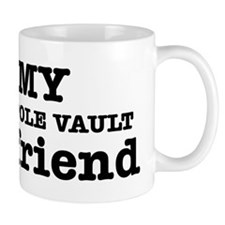 Cool Pole Vault Girlfriend designs Mug