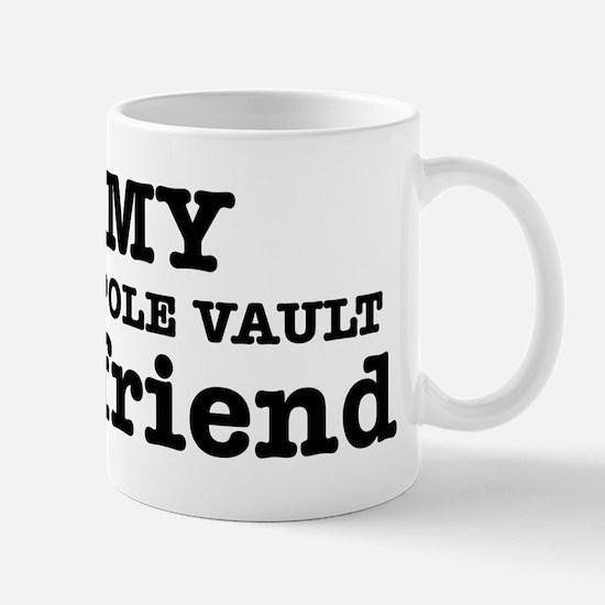 Cool Pole Vault Girlfriend designs Mug