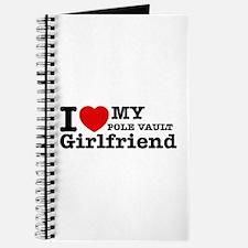 Cool Pole Vault Girlfriend designs Journal