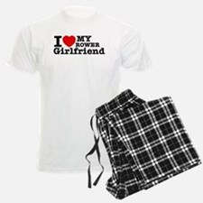 Cool Rower Girlfriend designs Pajamas
