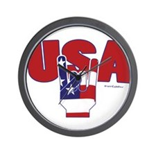 USA Rules! Wall Clock