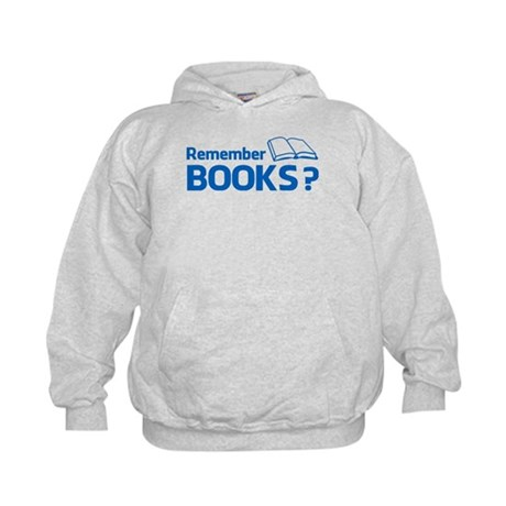 Remember Books ? Kids Hoodie