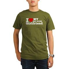 Cool Sky Diver Girlfriend designs T-Shirt
