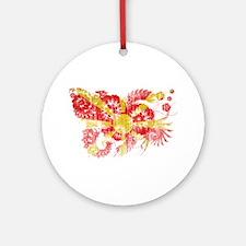 Macedonia Flag Ornament (Round)