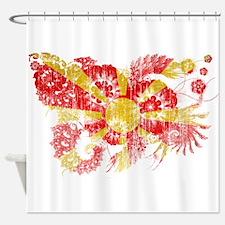 Macedonia Flag Shower Curtain