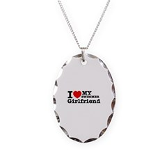 Cool Swimmer Girlfriend designs Necklace