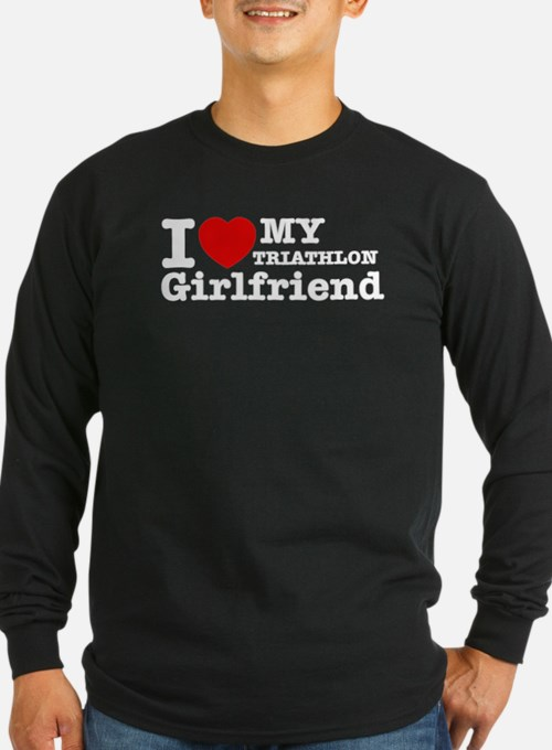 Cool Triathlon Girlfriend designs T