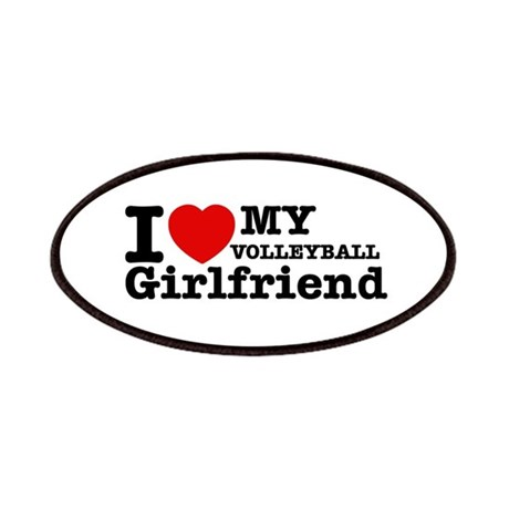 Cool volleyball girlfriend designs patches by heartfeltteez