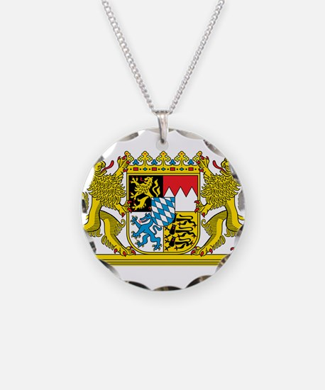 Bavaria Coat Of Arms Necklace