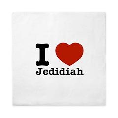 I love Jedidiah Queen Duvet