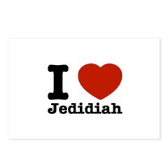 I love Jedidiah Postcards (Package of 8)