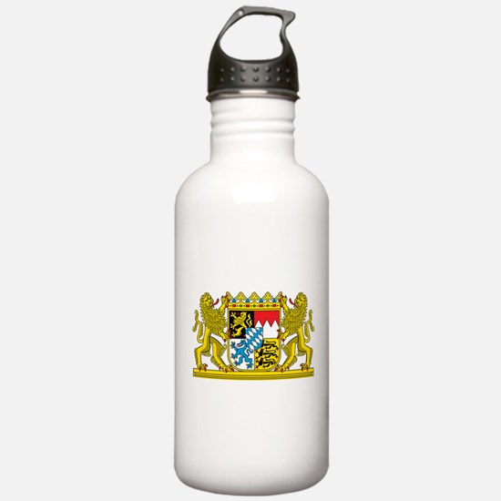 Bavaria Coat Of Arms Water Bottle