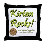 Kirtan Throw Pillow