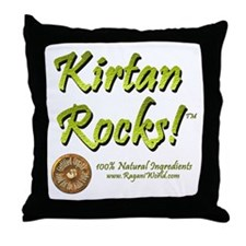 Kirtan Throw Pillow
