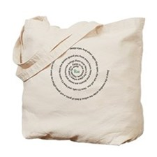 Rues lullaby spiral Tote Bag